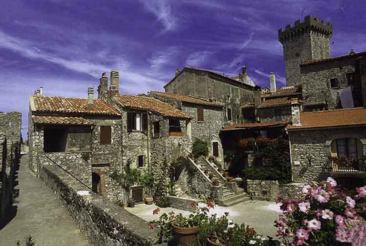 Capalbio, in Toscane