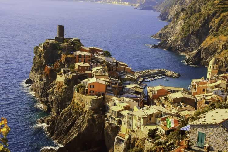Vernazza, een plaatsje in Cinque Terre