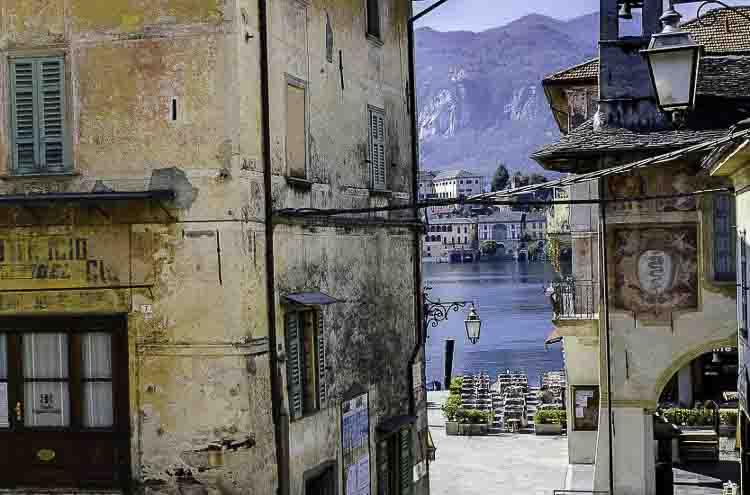 Orta San Giulia, een eilandje in het Orta Meer in Piemonte