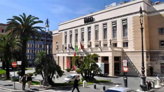 Het operagebouw in Rome
