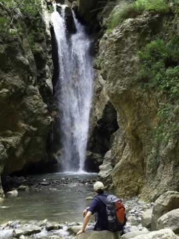 Waterval in Nebrodi Park