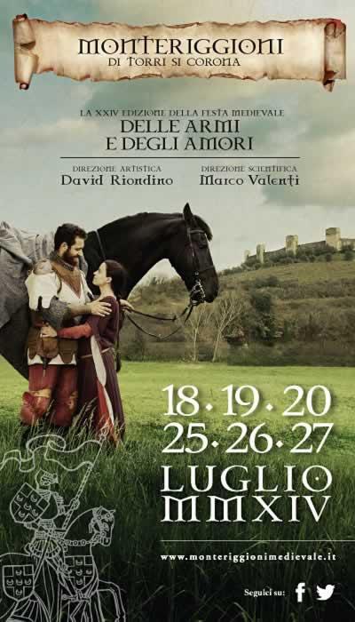 Middeleeuws Festival in Monteriggione