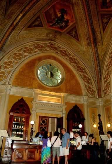 De originele apotheek van Santa Maria Novella in Florence