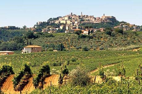 Montepulcuano in Toscane