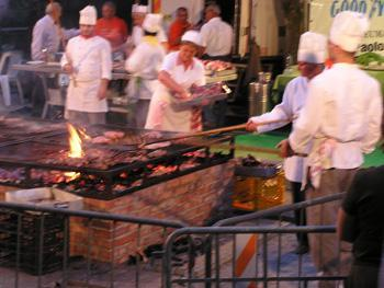 Sagra BBQ in Cortona