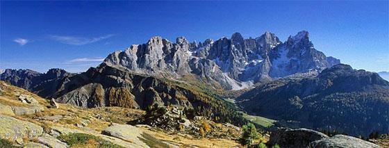 Het Pale di San Martino massief