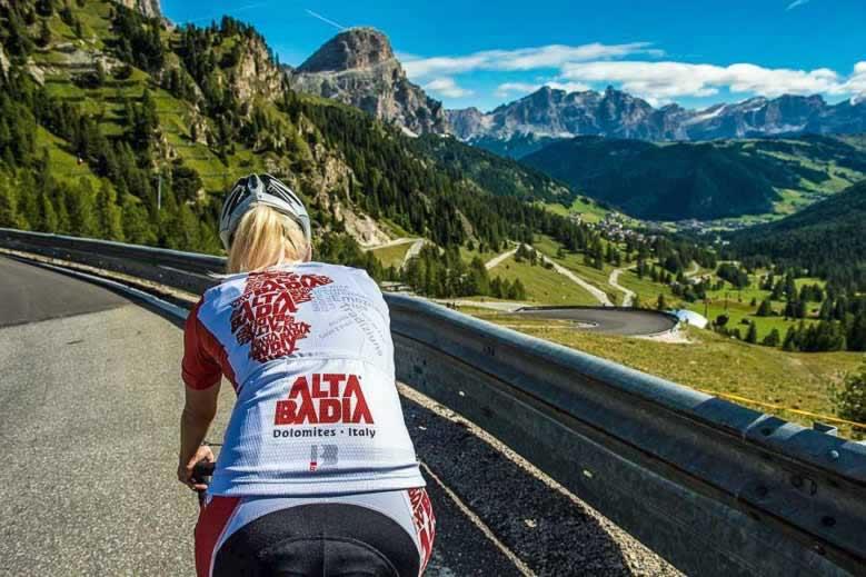 Alta Badia, op de fiets