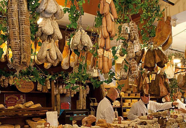 De keuken van Umbria is veelzijdig