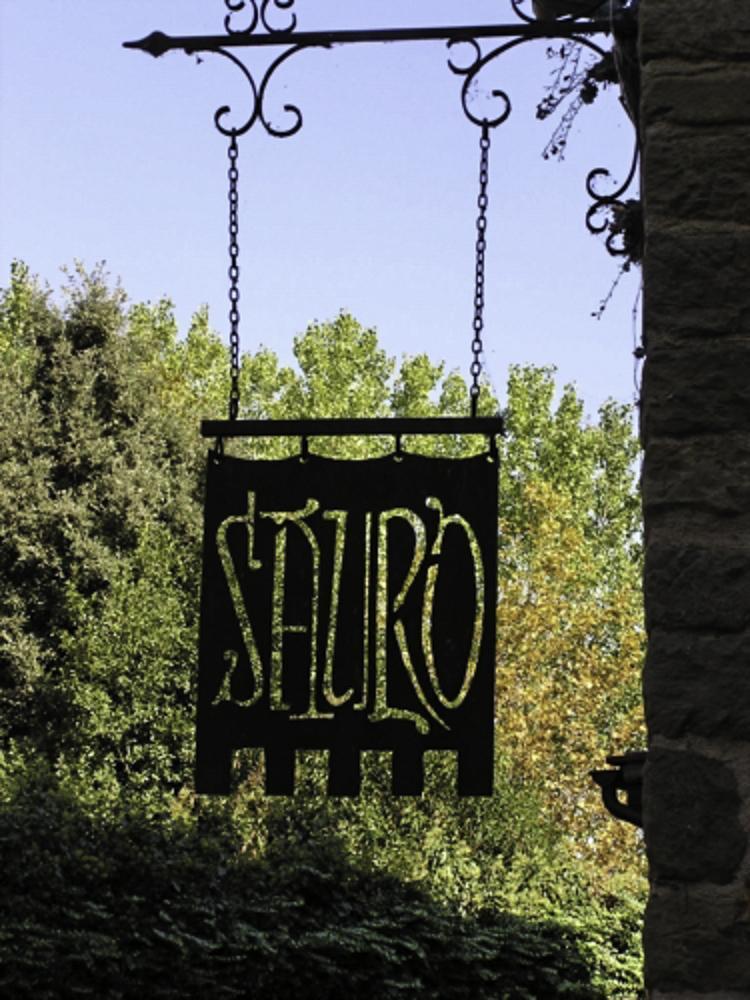 Eten bij Sauro, het enige restaurant op het eiland