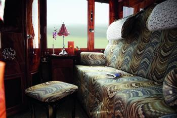 Een coupe in de Orient Express
