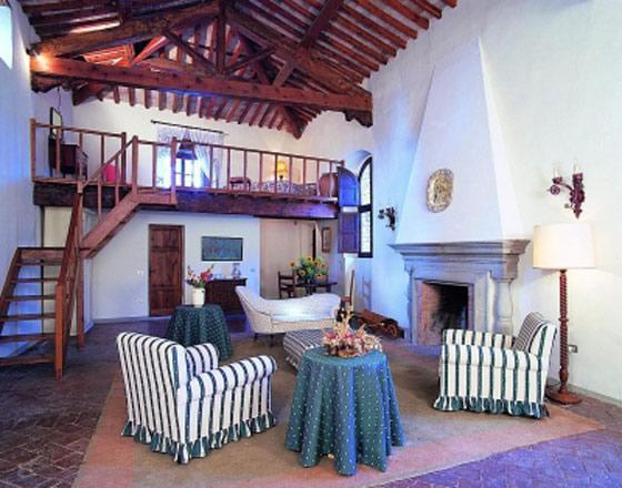 Castello di Montegufoni in de Chianti