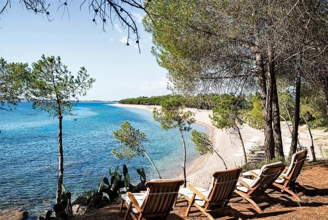 Lanthia Resort aan de kristalheldere zee van Sardinie