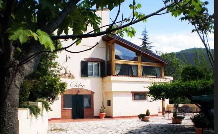 Agriturismo La Selva in Sabina, het middelpunt van Italie