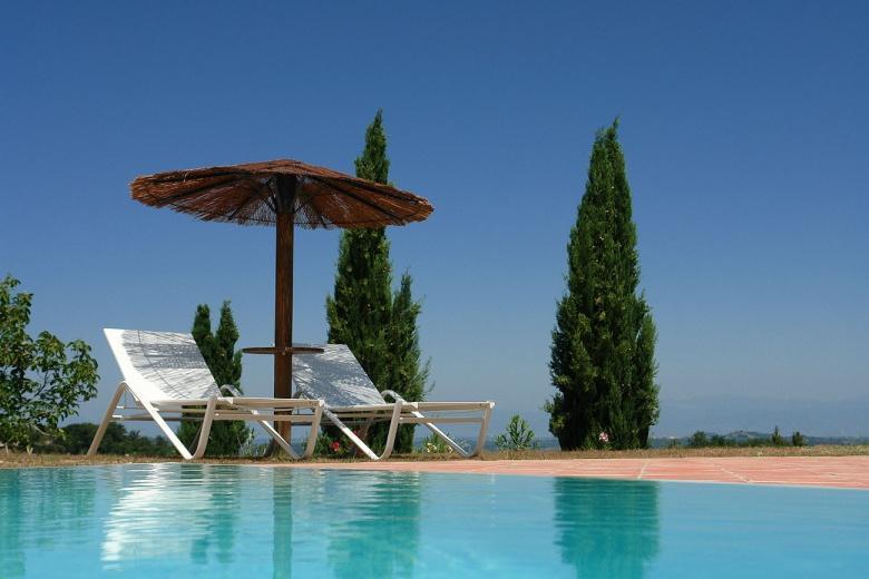 Piè di Costa, appartementen met zwembad in Toscane