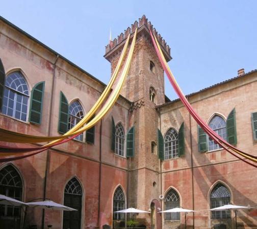 Castello Sannazzaro, logeren in een privé kasteel