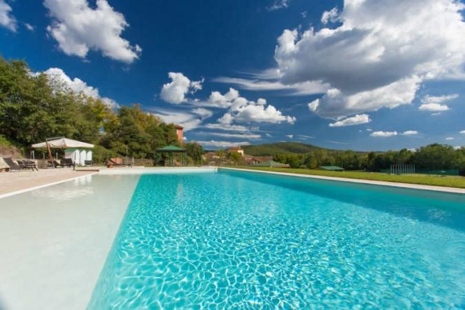 Villa La Martina (12p) met zwembad en bij zee