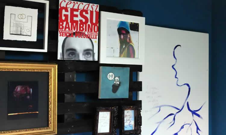 B&B Casa Sponge, hedendaagse kunst in de heuvels van de Marche.