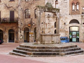 Agriturismo Torre Prima net buiten San Gimignano