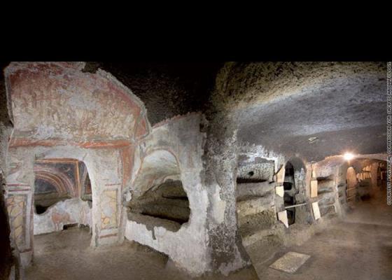 Rome | Oudste iconen ontdekt in catacomben van Rome