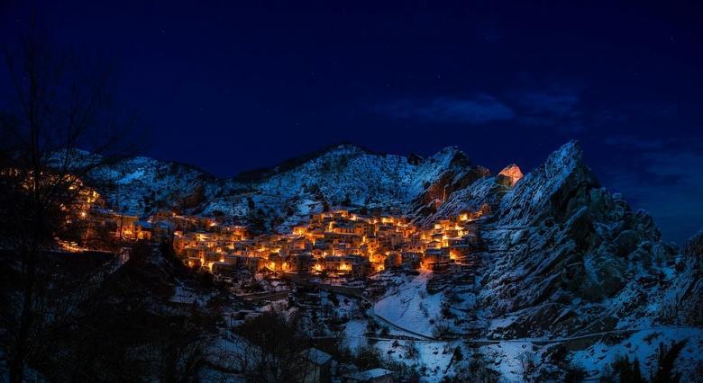 Castelmezzano in de Dolomiti Lucane