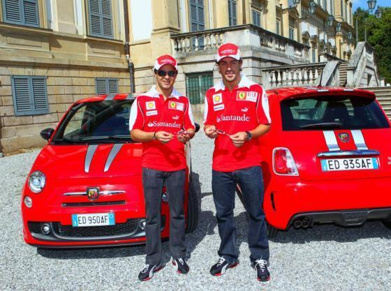 Abarth 695 Tributo Ferrari op Miljonair Fair