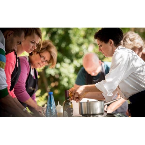 De toerist met koksmuts, kooklessen in Italie