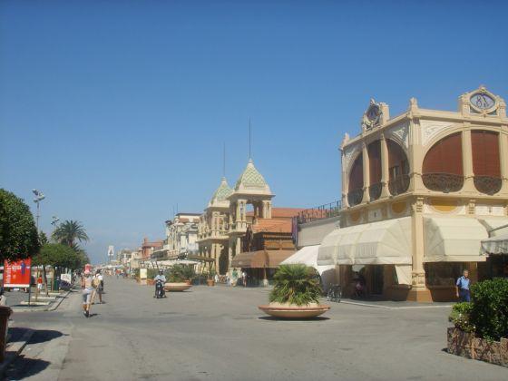 De Versilia is een van de meest bekende zee- en strand bestemmingen in Italië