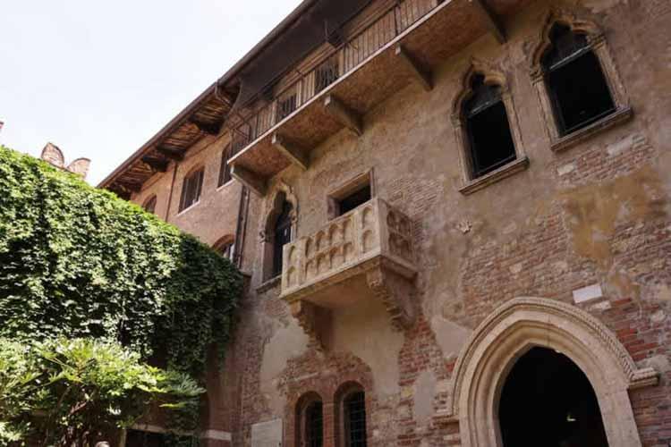 Trouwen in Verona met balkonscene