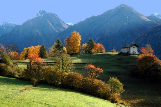 De vallei van Aosta en Gran Paradiso