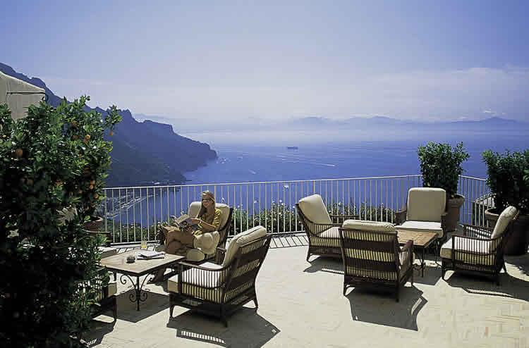 Paleis hotels aan de Amalfitaanse kust