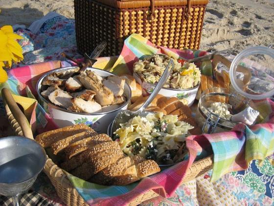 Een picnic op z'n Italiaans