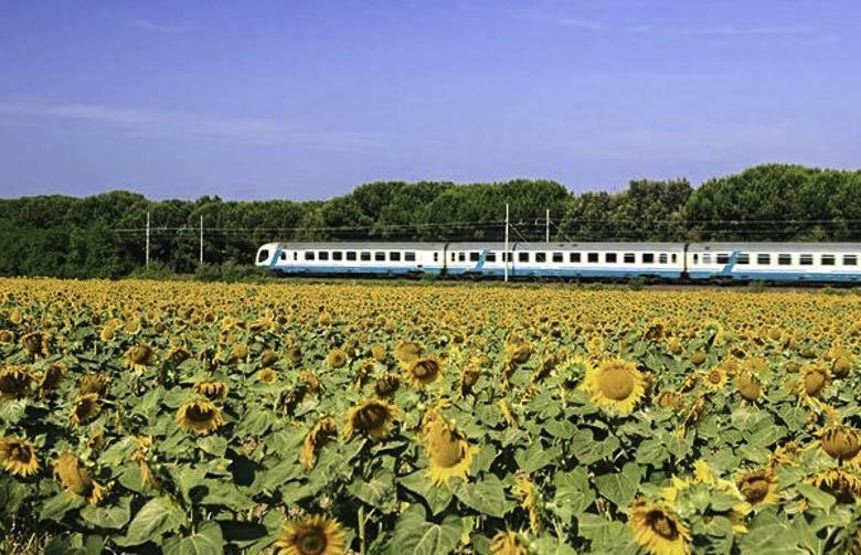 Met de trein door IItalie