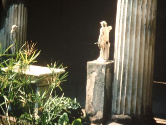 Ook Pompeiiens keken naar wat buurman bouwde