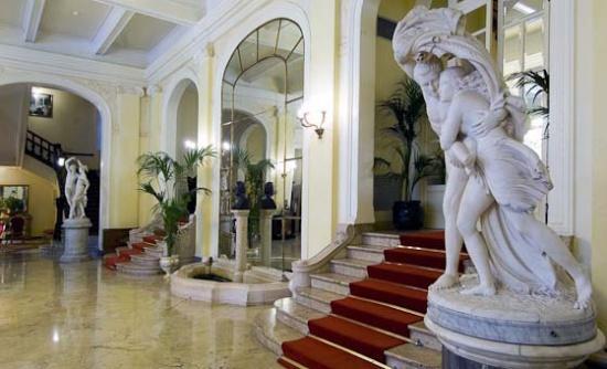 Grand Hotel des Palmes in Palermo