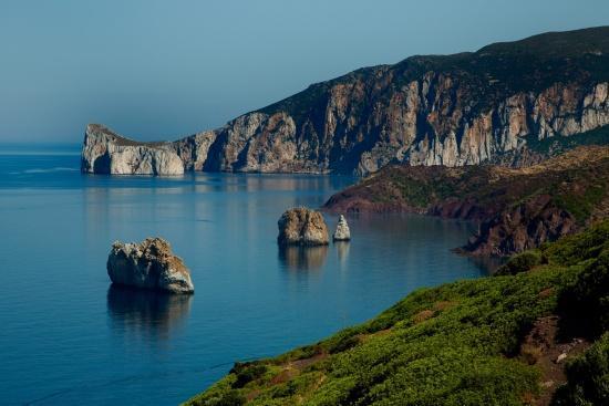 Sant 'Antioco en de aanloop naar de Costa Verde