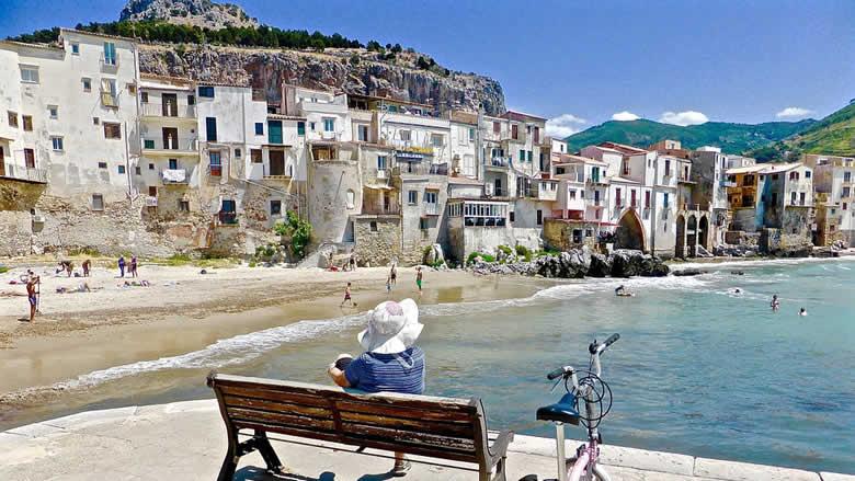 Cefalù, mooi vakantiehuis in schilderachtig visserstadje