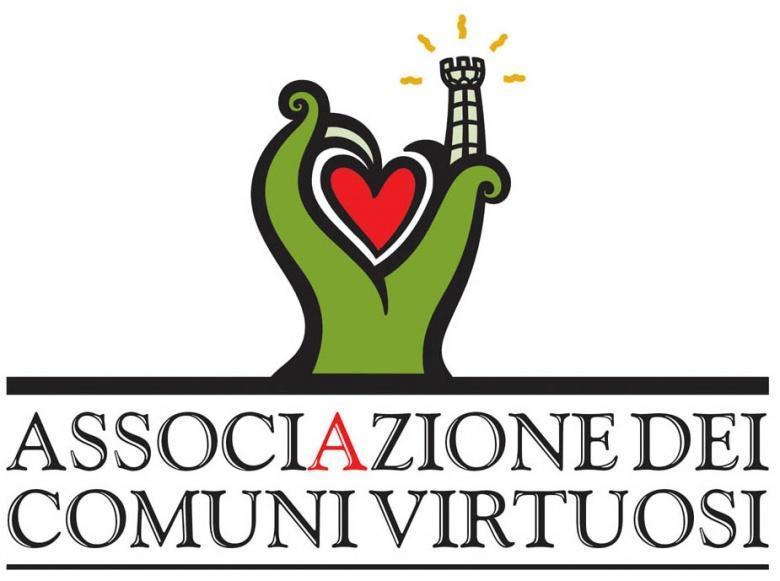 Het logo van de deugdzame gemeenten in Italie