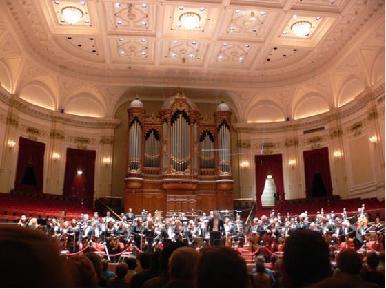 Top van Koninklijk Concertgebouworkest op bezoek in Toscane voor reeks concerten in juli 2009
