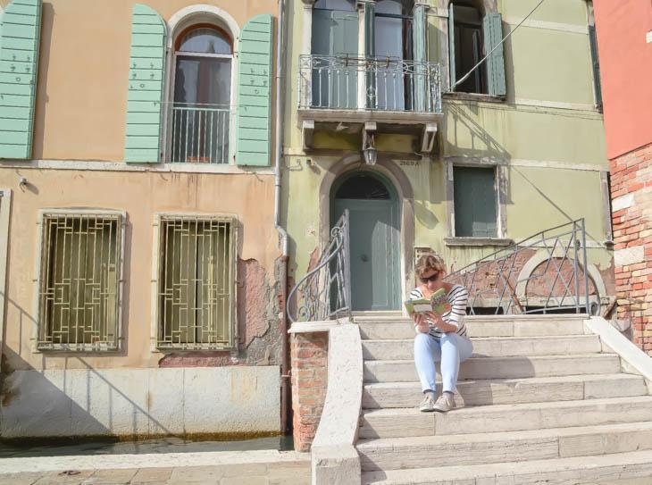 Elke Verkimpen in Venetie