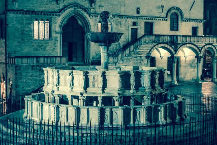 Perugia | eeuwenoud hart van Umbria