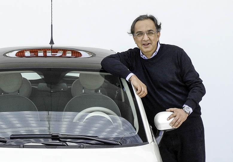 Sergio Marchionne en Fiat