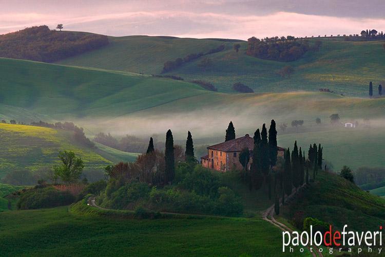 Toscane door Paolo De Faveri -Fotografie workshops @Copyright