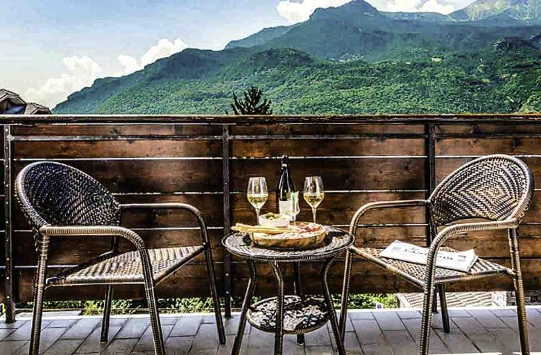 Aosta | Boetiekhotel au Soleil in de Riviera van de Alpen