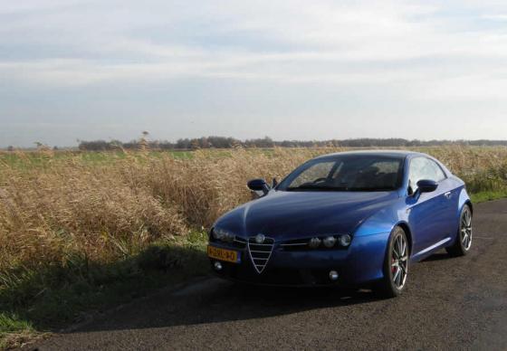 Testrit met de Alfa Romeo Brera 1750 Turbo