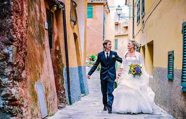 trouwen in Marche