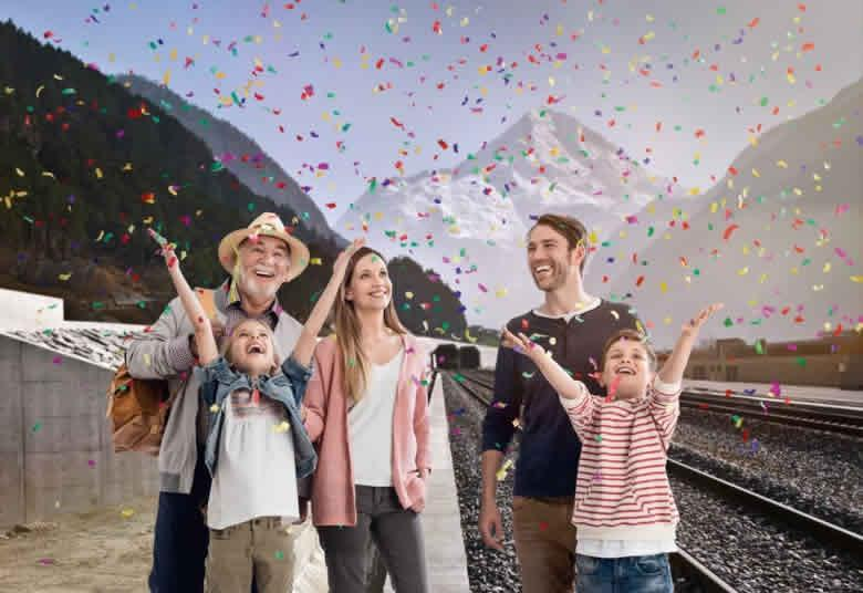 De GBT per trein naar Italie
