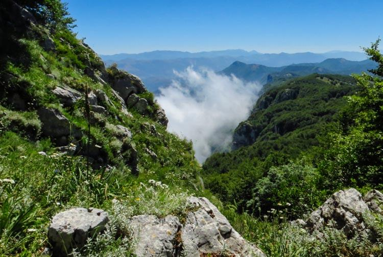 Cilento en de Alburni bergen