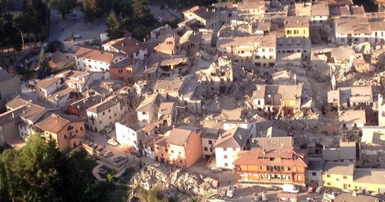 Amatrice na de aardbeving van 24 augustus