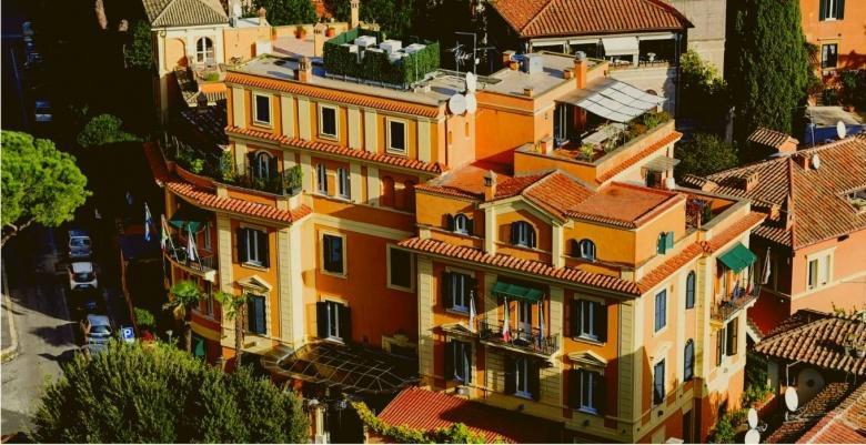 De hotelketen op de Aventijnse heuvel van Rome