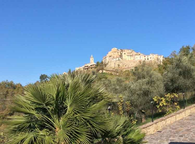Montefino of Montesecco, afhankelijk van de tijd